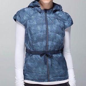 Lululemon Puffy Spring Fling Hooded Vest Jacket